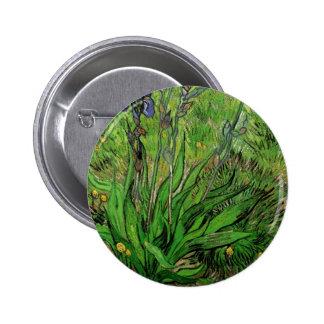 The Iris by Vincent van Gogh Pinback Button