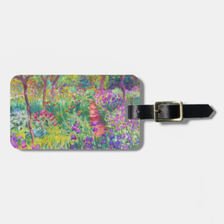 The Iris Garden at Giverny Claude Monet cool, old, Bag Tag