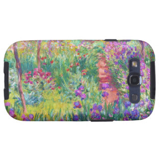 The Iris Garden at Giverny Claude Monet cool, old, Galaxy S3 Cases