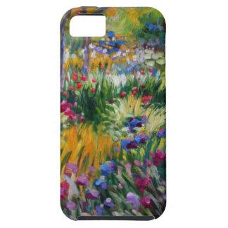The Iris Garden by Claude Monet iPhone 5 Cases