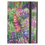 The Iris Garden by Claude Monet iPad Cover