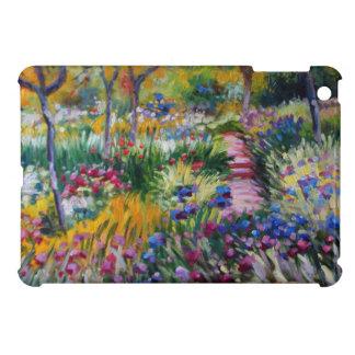 The Iris Garden by Claude Monet iPad Mini Cover