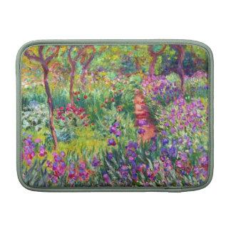The Iris Garden by Claude Monet MacBook Air Sleeves