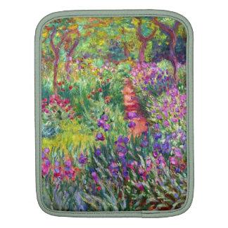 The Iris Garden by Claude Monet iPad Sleeve