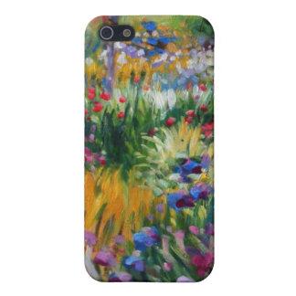 The Iris Garden by Claude Monet iPhone SE/5/5s Case