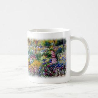 The Iris Garden by Claude Monet Mug