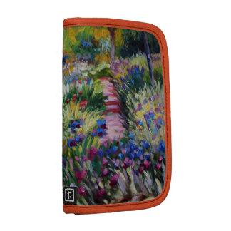 The Iris Garden by Claude Monet Folio Planner