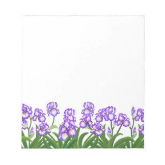 The Iris Garden Notepad