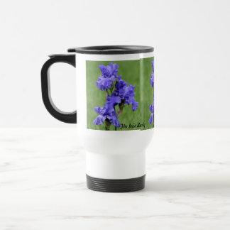 The Iris Lady Travel Mugs