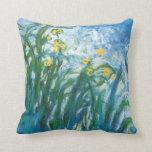 THe Irises Pillows
