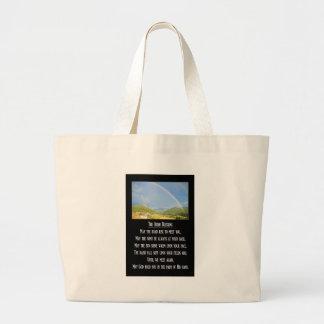 The Irish Blessing Jumbo Tote Bag