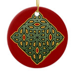 The Irish Christmas Knotwork Ornament