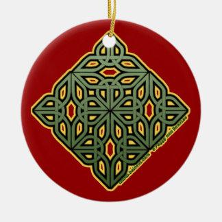 The Irish Christmas Knotwork Ornament
