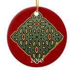 The Irish Christmas Knotwork Ornament 2010