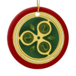 The Irish Christmas Spiral Ornament