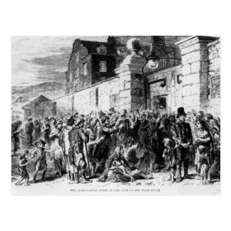 The Irish Famine Postcard