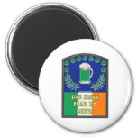 The Irish Feer No Beer Magnets
