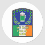 The Irish Feer No Beer Sticker
