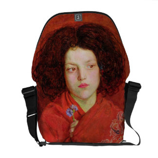 The Irish Girl, 1860 (oil on canvas laid down on b Courier Bags
