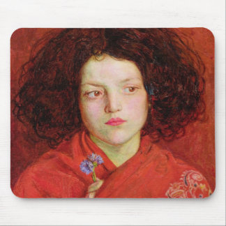 The Irish Girl, 1860 (oil on canvas laid down on b Mouse Pad