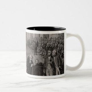 The Irish House of Commons Two-Tone Coffee Mug