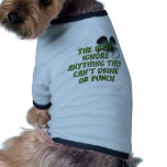 THE IRISH IGNORE ANYTHING THEY CAN'T DRINK / PUNCH DOG SHIRT