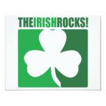 The Irish Rocks! 4.25x5.5 Paper Invitation Card
