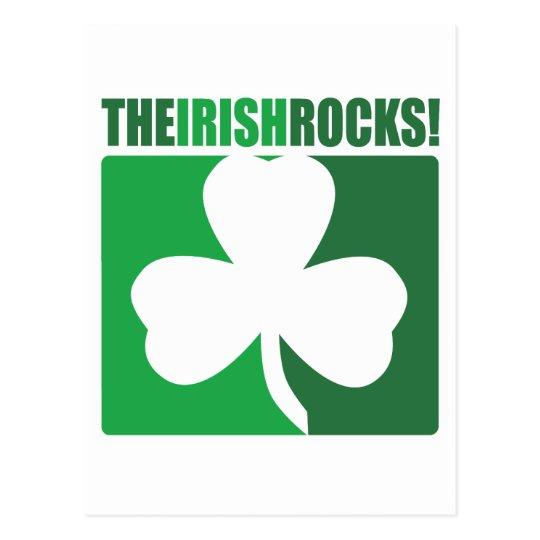 The Irish Rocks! Postcard