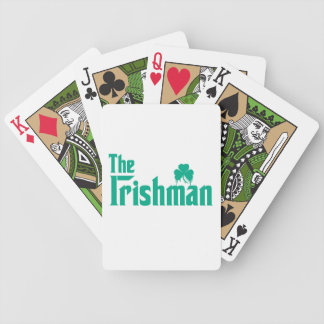 The Irishman Playing Cards