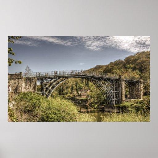 The Iron Bridge at Ironbridge, Telford, Shropshire Posters