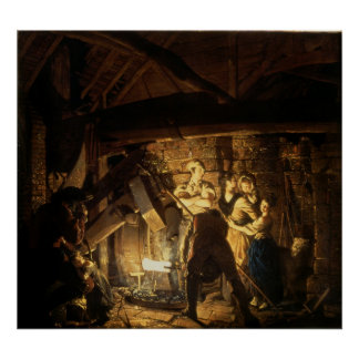 The Iron Forge, 1772 Poster