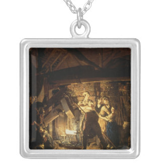 The Iron Forge, 1772 Silver Plated Necklace