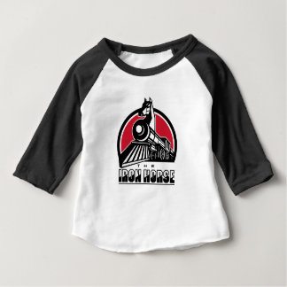 The Iron Horse Retro Baby T-Shirt