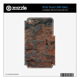 The iron ore Hematite iPod Touch 4G Skins