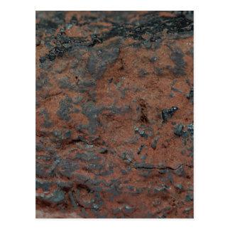 The iron ore Hematite Postcard