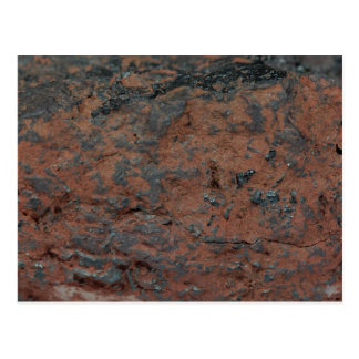 The iron ore Hematite Postcard