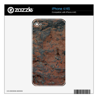 The iron ore Hematite Skin For The iPhone 4