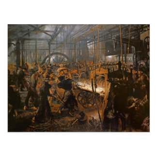 The Iron-Rolling Mill 1875 Post Card