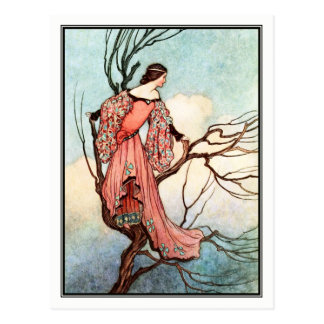 The Iron Stove by Warwick Goble Postcard