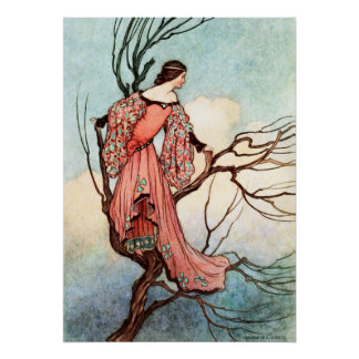The Iron Stove by Warwick Goble Poster
