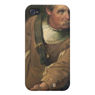 The Ironside (oil on canvas) (pair of 124491) iPhone 4/4S Case
