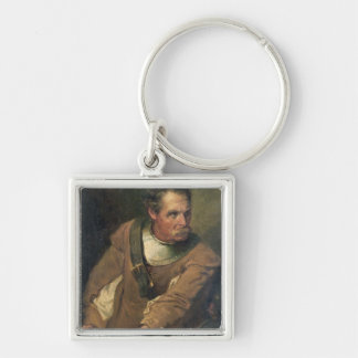 The Ironside (oil on canvas) (pair of 124491) Keychain