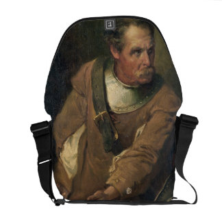 The Ironside (oil on canvas) (pair of 124491) Courier Bag
