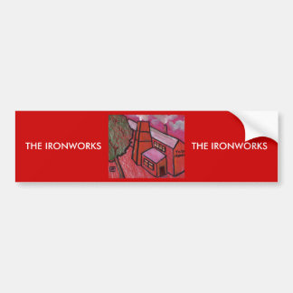 THE IRONWORKS BUMPER STICKER