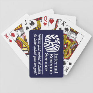 The IRS Playing Cards