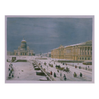 The Isaac Cathedral and the Senate Square Postcard
