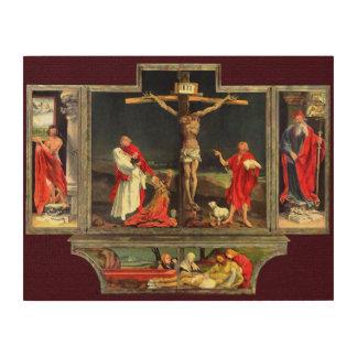 The Isenheim Altarpiece Wood Print
