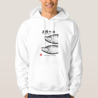 The Ishikari salmon HOKKAIDO SALMON JAPAN Hoodie