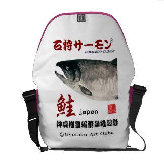 The Ishikari salmon JAPAN Messenger Bag