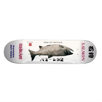 The Ishikari salmon! SALMON JAPAN Skate Decks